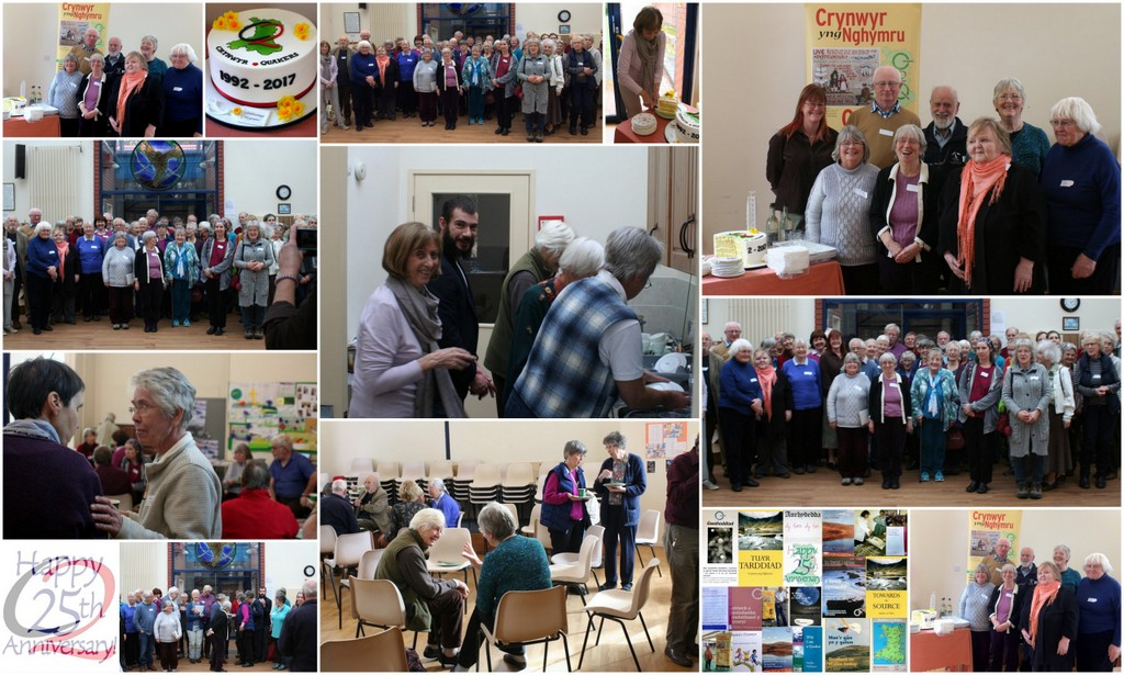 Meeting of Friends in Wales at Newtown celebrating 25 years